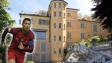 La espectacular mansión en la que viviría Cristiano Ronaldo en Italia