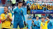Bélgica es tercero: así celebraron los jugadores tras vencer a Inglaterra