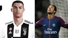 Con 'CR7' en la Juventus: Top 5 de los jugadores mejor pagados del mundo