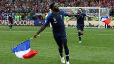 Francia: Samuel Umtiti celebró la obtención del Mundial mediante su cuenta de Instagram