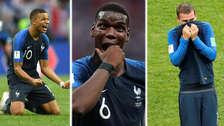 La emocionante celebración de Francia tras ser campeones de Mundial Rusia 2018