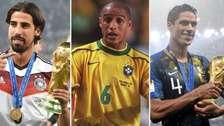 Las estrellas que ganaron el Mundial y la Champions League en el mismo año