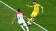 Lloris quiso hacer una huacha y le regaló el gol a Mandzukic