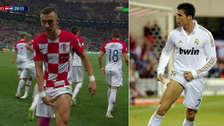 Francia - Croacia: Perisic anotó y celebró como Cristiano Ronaldo