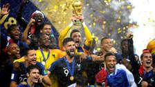 Francia campeón de Rusia 2018: así fueron los festejos a ras de cancha