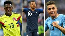 Mbappé: el equipo ideal Sub 23 de la Copa del Mundo Rusia 2018