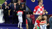 Luka Modric: así fue la premiación como Balón de Oro en Rusia 2018