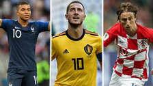 Luka Modric y el once ideal de la Copa del Mundo Rusia 2018