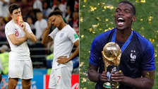 Paul Pogba troleó a Inglaterra con el 'It's coming home'