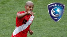 Aseguran que André Carrillo será nuevo jugador del Al Hilal de Arabia Saudita