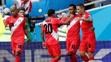 La tabla en la que la Selección Peruana quedó en octavo lugar de Rusia 2018