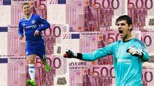 La cifra millonaria que Real Madrid tendrá pagar por Hazard y Courtois