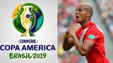André Carrillo apareció en el video oficial de la Copa América Brasil 2019