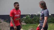 Jefferson Farfán le pidió a Ricardo Gareca que siga en la Selección Peruana