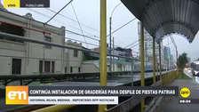 Parada Militar: instalan estrados y graderías en la avenida Brasil