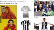 Los memes de Cristiano Ronaldo son sensación en el mercado de fichajes