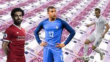 Mbappé: los 20 futbolistas con mejor valor en el mercado tras el Mundial