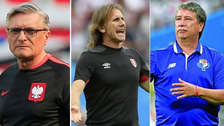 Los 11 técnicos que dejaron su cargo después del Mundial Rusia 2018