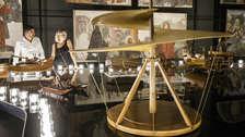 Milán presenta exposición de las obras del artista Leonardo Da Vinci