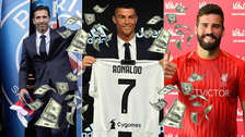 Juventus: los 10 clubes que más han gastado en fichajes en Europa