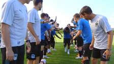 Así fue recibido Christian Cueva por sus nuevos compañeros del Krasnodar