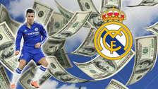 La millonaria cifra que el Real Madrid pagará por el fichaje de Hazard