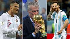 Mensaje a Cristiano y Messi: Deschamps pide el Balón de Oro para un francés