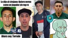 Héctor Herrera es víctima de memes por sus cirugías al rostro