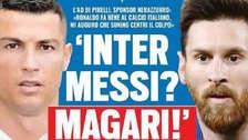 Lionel Messi: ¿también se va a Italia como Cristiano Ronaldo?