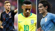 Las estrellas que no fueron nominadas por la FIFA para el premio The Best