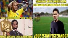 Neymar es víctima de memes tras no ser nominado para los premios The Best