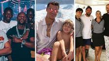 Así disfrutan de sus vacaciones los jugadores del Barcelona