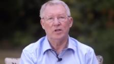 El emotivo mensaje de Alex Ferguson luego de superar una cirugía cerebral