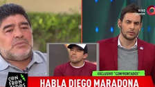 YouTube | Diego Maradona insultó a sobrino en un programa en vivo en TV