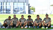 El nuevo tridente de la Juventus con la llegada de Cristiano Ronaldo