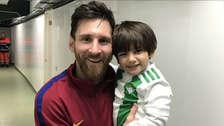 Lionel Messi y el gran acto de amor con el hijo de Andrés Guardado