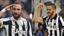 Juventus: Higuaín pasa al Milan en intercambio por Bonucci