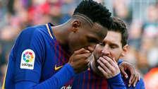 Mina confesó que Messi y Suárez le quitaban 50 euros al día por esta razón