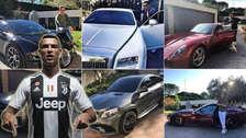 ¡Impresionante! Los 10 autos de lujo que Cristiano Ronaldo se llevará a Italia