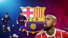 El once de lujo de Barcelona con el fichaje de Arturo Vidal