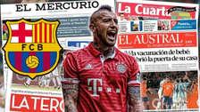 Prensa chilena feliz con la llegada de Arturo Vidal a Barcelona