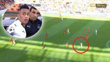La jugada de Christian Cueva que terminó en gol del triunfo del Krasnodar