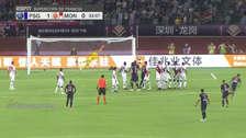 PSG: Di María anotó un golazo de tiro libre por la  Supercopa francesa