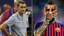 Entrenador de Barcelona defendió el fichaje del chileno Arturo Vidal