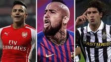 Vidal al Barcelona: los 10 jugadores chilenos más caros de la historia