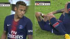 Neymar y su regreso al PSG: ¿volvió a exagerar tras falta ante Mónaco?