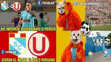 Universitario es víctima de memes tras perder contra Sporting Cristal