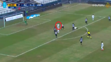 Christian Ortiz y la increíble ocasión de gol que falló frente a Leao Butrón