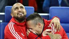 El emotivo mensaje de Ribery luego del fichaje de Vidal a Barcelona