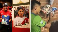 ¡Gesto de crack! Raúl Ruidíaz le firmó el albúm del Mundial a un hincha